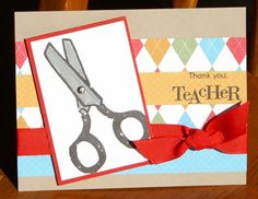 elementary essentials, scissors with brad