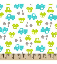 Cars Blue Snuggle Flannel Print Cotton Fabric, Pre-Cut 1 Yard by LaCreekBlue on Etsy