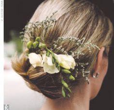 more wedding hair...