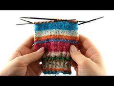 How to Knit Socks #2 Leg - YouTube