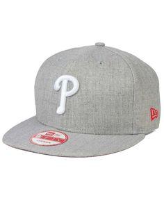 the best attitude 4b42e 378df New Era Philadelphia Phillies Heather Team Color 9FIFTY Cap   Reviews - Sports  Fan Shop By Lids - Men - Macy s