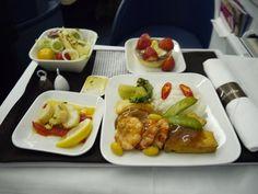 Delta Business Elite In-flight Meal
