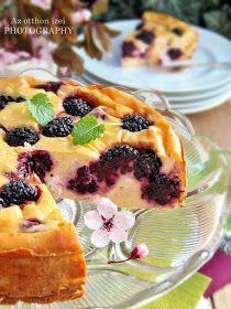 Az otthon ízei: Sült túrótorta szederrel Pound Cake, French Toast, Pudding, Sweets, Breakfast, Ethnic Recipes, Food, Hungary, Pie