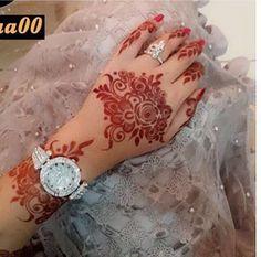 Floral Henna Designs, Mehndi Designs Book, Mehndi Design Pictures, Modern Mehndi Designs, New Bridal Mehndi Designs, Beautiful Henna Designs, Mehndi Designs For Fingers, Latest Mehndi Designs, Henna Tattoo Designs