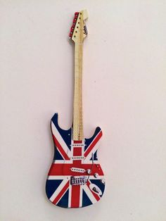 Set of Four Union Jack Decor Sovenir Fridge Magnets Mini Scooter Bus Guitar New | eBay