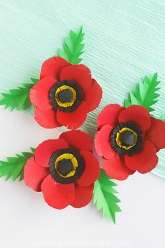 A simple paper flower craft for Remembrance Day, this poppy craft is perfect for older kids or grown-ups Making poppies with kids is a great way to facilitate conversations about the reasons for Remembrance Day, Veteran's Day or Memorial Day Remembrance Day Pictures, Remembrance Day Quotes, Remembrance Day Activities, Memorial Day Activities, Remembrance Day Poppy, Craft Activities, Elderly Activities, Poppy Craft For Kids, Art And Craft