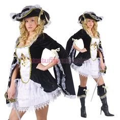 female musketeer costume - Google Search