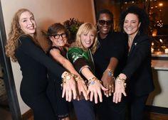 Calvin Klein Toasts Charmed by LizWorks and Ippolita Artist Bracelet
