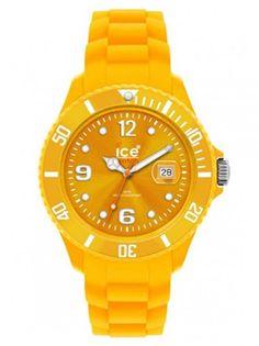 Дамски часовник ICE WATCH - жълт-оранж
