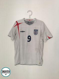 f60ec631bdf WAYNE ROONEY England 2005 07 Home Football Shirt (S) Soccer Jersey UMBRO  rare