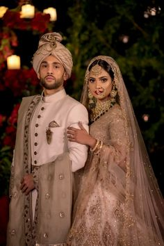 Gorgeous Wedding With Breathtaking Bridal Outfits Indian Wedding Poses, Indian Bridal Photos, Wedding Dresses Men Indian, Indian Wedding Couple Photography, Indian Bride And Groom, Indian Bridal Outfits, Bridal Photography, Sherwani For Men Wedding, Bride Groom Photos