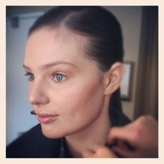 Prepping Model for Skincare Advert (Makeup: Vanessa Mills) photoshoot #makeup #skincare #model #hair #beauty #makeupartist #photoshoot