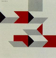 Corespaço Ativado 4 1986 | Maurício Nogueira Lima acrílica sobre tela, c.s.e. 100.00 x 100.00 cm