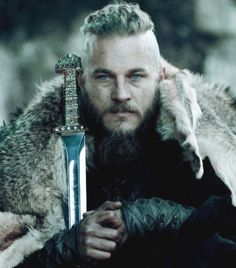the real Ragnar Lothbrok (portrayed by Travis Fimmel in the tv-series Vikings).  blog grimfrost.com