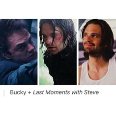 Bucky + last moments with Steve Steve Rogers Bucky Barnes, Bucky And Steve, Bucky Tony, Dc Movies, Marvel Movies, Marvel Characters, Johnlock, Destiel, Marvel Dc