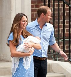 Prince George in The Newborn Prince of Cambridge Leaves the Hospital