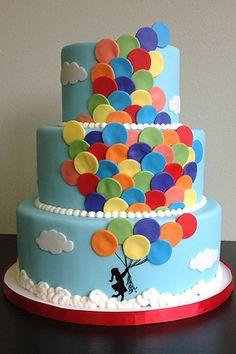 Colorful Balloons @ midori bakery