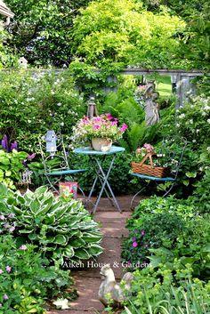 make a corner of the garden, yours.     Aiken House & Gardens