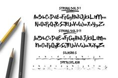 Really excited to introduce Strong Bold is a handwritten brush typeface! Strong Bold perfect for all your designs project, event and more.