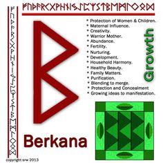 Berkana rune love