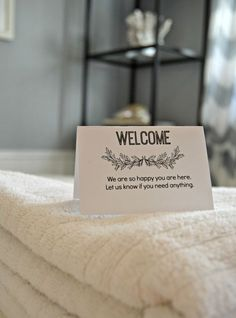 free printable welcome notes for guests