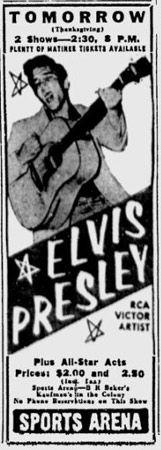 Elvis Advertisement