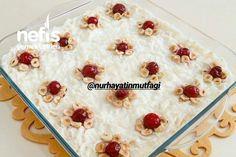 Ramazan Gülü Güllaç #ramazangülügüllaç #sütlütatlılar #nefisyemektarifleri #yemektarifleri #tarifsunum #lezzetlitarifler #lezzet #sunum #sunumönemlidir #tarif #yemek #food #yummy Turkish Design, Family Meals, Food And Drink, Pudding, Desserts, Recipes, Bakken, Tailgate Desserts, Deserts
