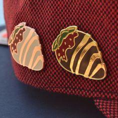 Chocolate Strawberry Pin