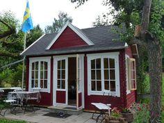 Schwedenrotes Clockhouse