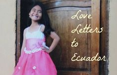 Writing a child in another country is a favorite way to practice gratitude. Here's a short story about a recent letter. @Compassion International #loveletters