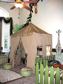 Jungle play room..idea for little M!
