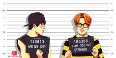 This really isn't a good drawing of Jimin but I really like the saying.