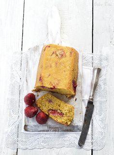 Epres polentatorta | Dolce Vita Életmód Food Photography, Cheese, Sweet, Life, Candy