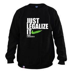 Bluza Just Legalize It! - LOGIKA