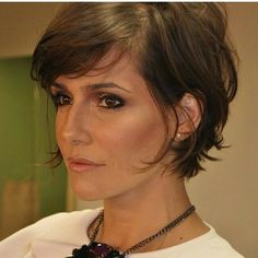 Bruin en kort: een geweldige combinatie. Check deze 11 prachtige bruine kapsels met kort haar! - Kapsels voor haar