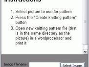 GUI for kpg under Windows_knitting pattern generator