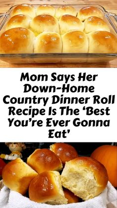 Easy Cooking, Cooking Recipes, Cooking Oil, Bread Recipes, Easy Recipes, Dinner Rolls Recipe, Roll Recipe, Recipe Box, Country Dinner