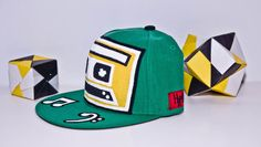 Hype365 I Live for Music Hand Painted Snapback - Classic Yupoong
