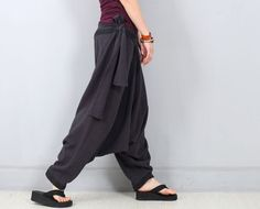 Women Pants Harem Pants Thai Pants Trouser Linen by OurLittleDaisy, $83.00