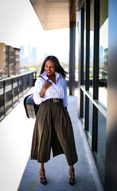 3 tips on how to make your culottes chic and stylish for spring.