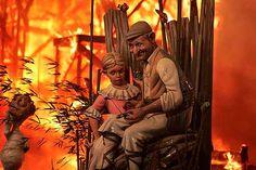 Fallas de Valencia - Disneyland on fire