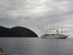 Club Med 2 moored at Lipari
