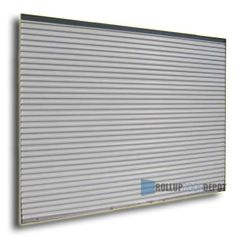 wide x tall Light Duty Commercial Roll Up Doors Rolling Shutter, Roll Up Doors, Shutter Doors, Door Gate, Shutters, Commercial, Room Ideas, Rain, Walls