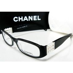 Chanel 3155H Eyeglass Frames, I absolutely adore these(I own them due to a time of employment with LensCrafters and Sunglass Hut)  This would be what I consider my dress up pair.....