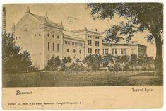 Teatrul Lyric Bucharest Romania, Time Travel, Amen, Vintage World Maps, Louvre, Traveling, Architecture, Beautiful, Viajes