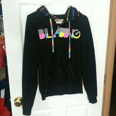 Billabong hoodie Reversible Billabong hoodie! Gently used Billabong Jackets & Coats