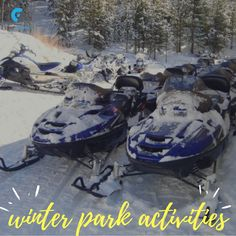 Rent snowmobile from Grand Adventures and a grab a trail map that will lead you through forests, up and over hills, and ultimately to mesmerising  mountain views. Book Your Colorado snowmobile trails tours today !  #outdoorwinteradventure #coloradosnowmobiletrails #snowmobilinggrandlake #winterparkactivities #snowmobilingwinterpark