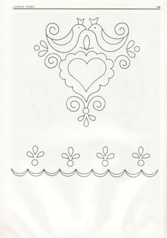 Embroidery Pattern from Gallery.ru / Фото - Slovenska vysivka plna a dierkovana - jwt Mexican Embroidery, Hungarian Embroidery, Embroidery Works, Folk Embroidery, Embroidery Patterns Free, Beaded Embroidery, Cross Stitch Embroidery, Machine Embroidery, Embroidery Designs