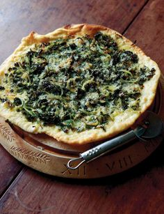 Onion and Kale Pizza Recipe - Food and Recipes - Mother Earth Living