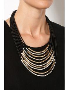 Multi Cord Necklace | David Jones